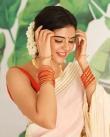 actress kalyani priyadarshan new onam kerala saree photos-008