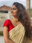 keerthi suresh kerala onam saree photos-002