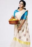 Malavika Menon in kerala saree photos2341-1