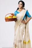 Malavika Menon in kerala saree photos2341