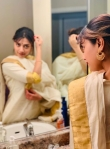 mamta mohandas new onam celebration photos