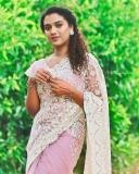 mareena-michael-kurisingal-saree-photos