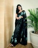mrunal-thakur-new-black-saree-photos-001
