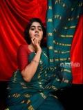 nimisha-sajayan-new-photos-in-saree-007