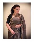 Nithya Menon saree hd images-2