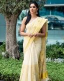 nyla-usha-latest-photos-in-kerala-onam-saree-