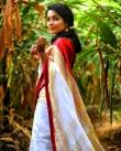 rajisha vijayan in kerala saree photos-001