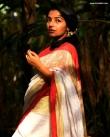 rajisha vijayan in kerala saree photos-002