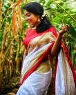 rajisha vijayan in kerala saree photos