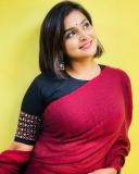 remya-nambeesan-new-saree-photo-001