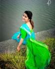 sarayu mohan saree-001