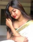 actress shaalin zoya latest onam kerala saree photos-003