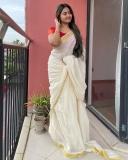 shalin-zoya-new-onam-photoshoot-in-kerala-saree