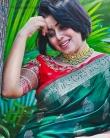 shamna kasim latest saree photos-003