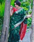 shamna kasim latest saree photos-006