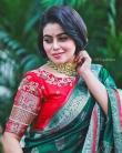 shamna kasim new saree photos-005