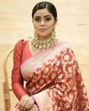 shamna-kasim-red-saree-photos-latest
