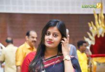 ansiba hassan latest saree photos
