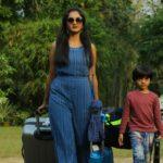 Surabhi Santhosh in Grand Father Malayalam Movie Photos-2