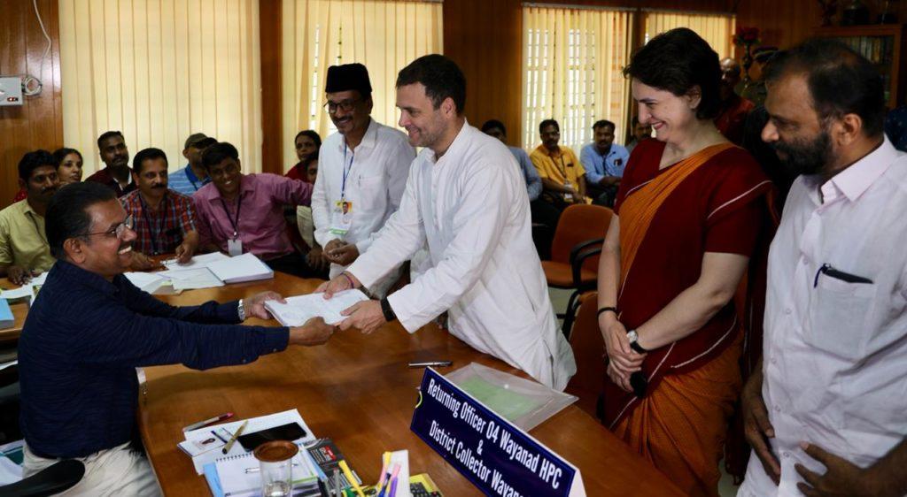 Rahul Gandhi At Wayanad - Kerala9.com