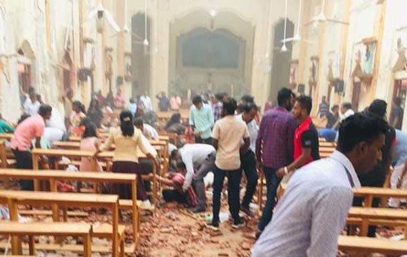 bomblast srilanka - Kerala9.com