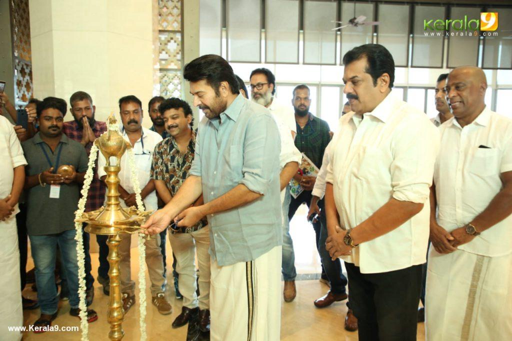 Mammootty at Ganagandharvan movie pooja photos - Kerala9.com
