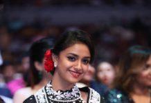 keerthi suresh latest saree photos 001