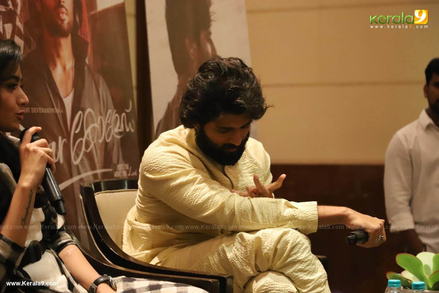 Dear Comrade movie premotion kerala kochi photos - Kerala9.com