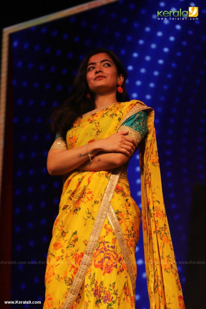 Rashmika at Dear Comrade movie premotion kerala kochi photos 021 - Kerala9.com