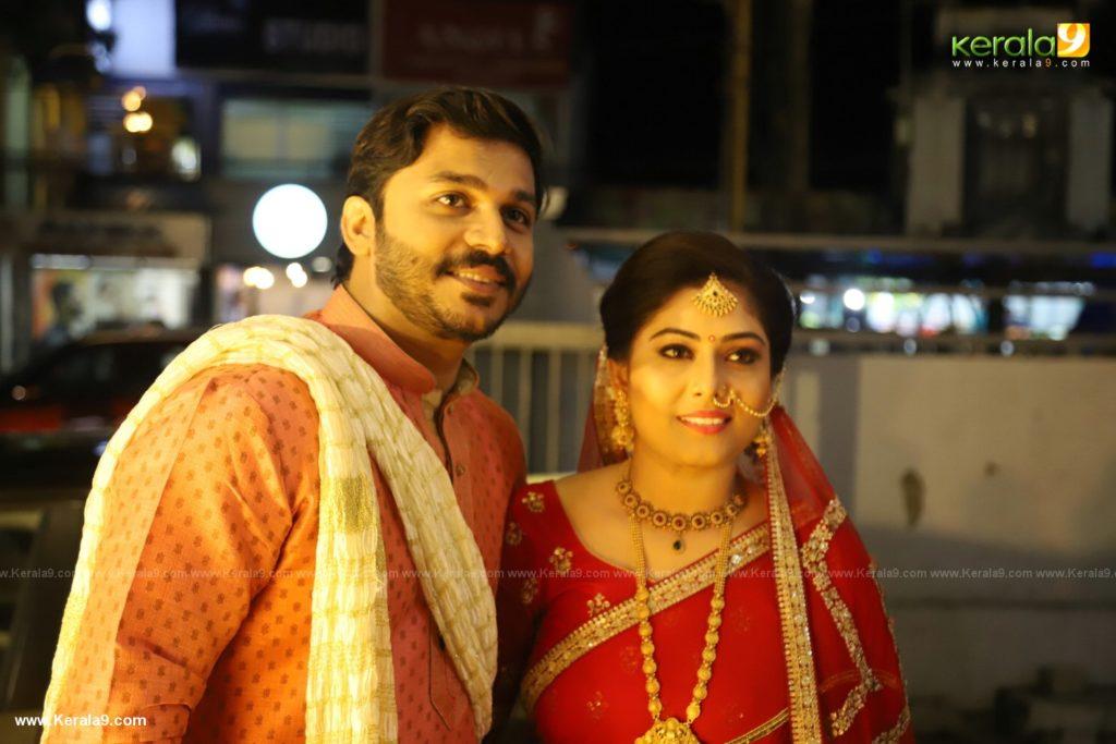 Anjali Nair Brother Ajay Wedding Reception photos 002