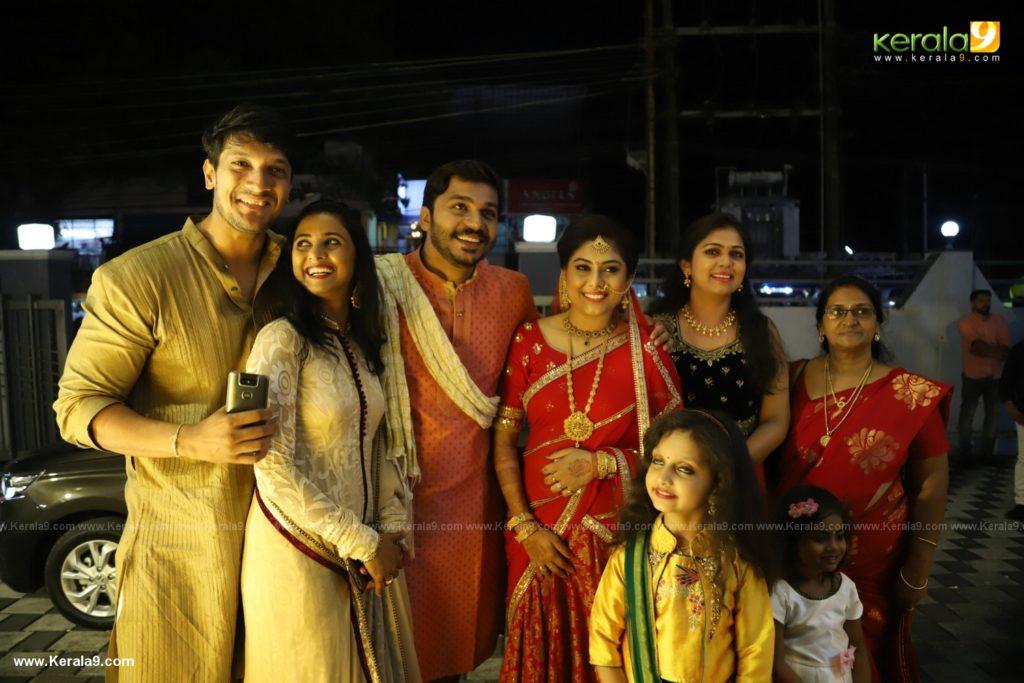 Anjali Nair Brother Ajay Wedding Reception photos 011
