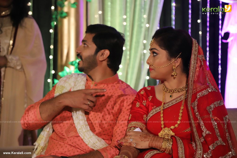 Anjali Nair Brother Ajay Wedding Reception photos