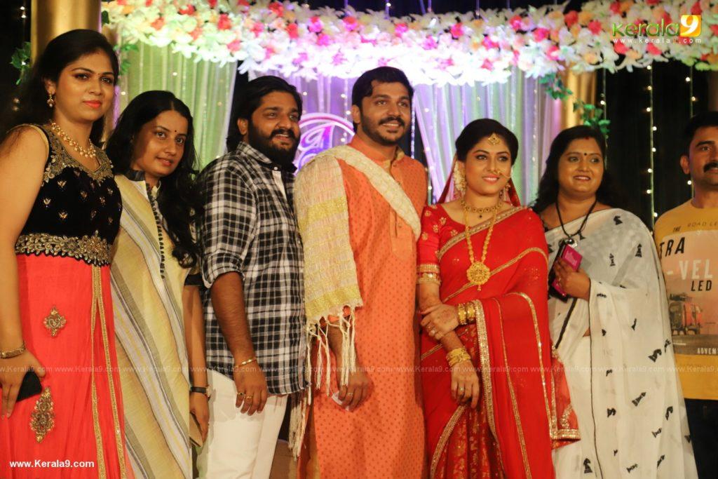 Anjali Nair Brother Ajay Wedding Reception photos 042