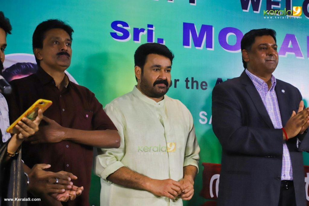 Mohanlal at Aniyan Kunjum Thannalayathu Audio Launch Photos 010