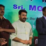 Mohanlal at Aniyan Kunjum Thannalayathu Audio Launch Photos 010