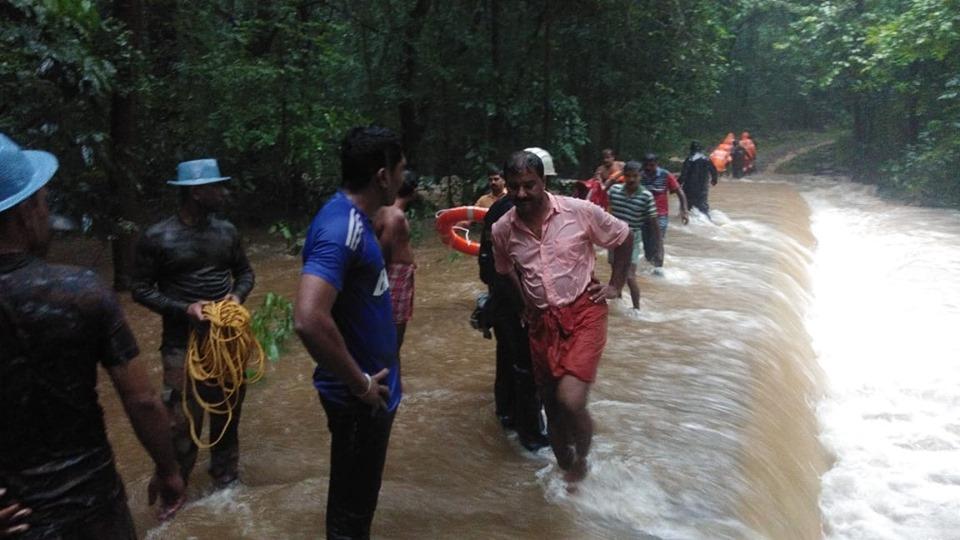 kerala rain and floods2019 pics