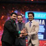 mohanlal and dhanush at siima awards 2019 photos 099