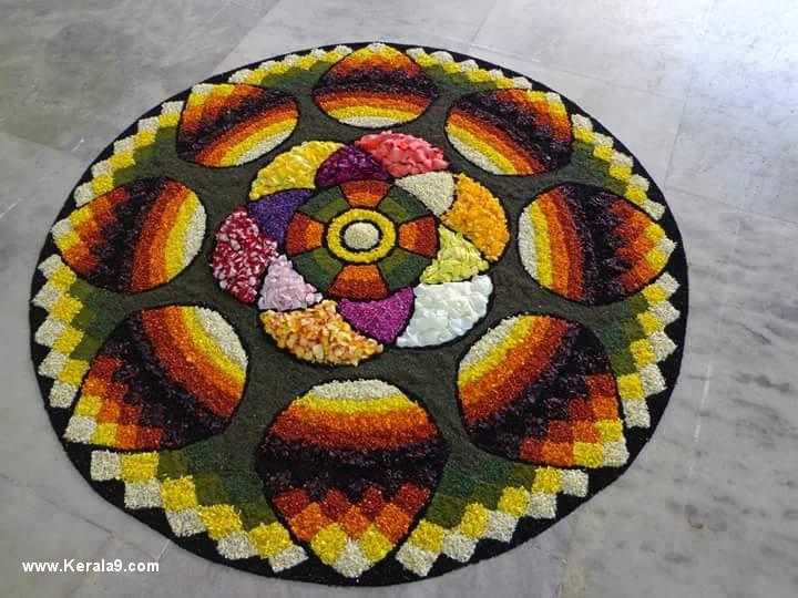 prize winning pookalam designs 0993 2