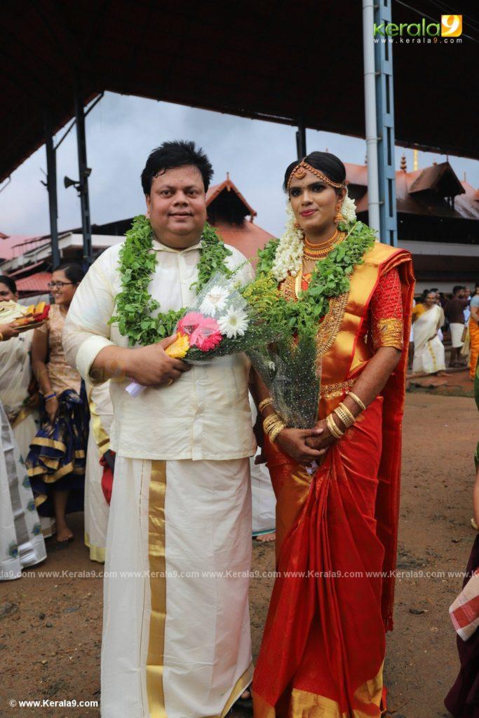 anoop chandran marriage photos 006