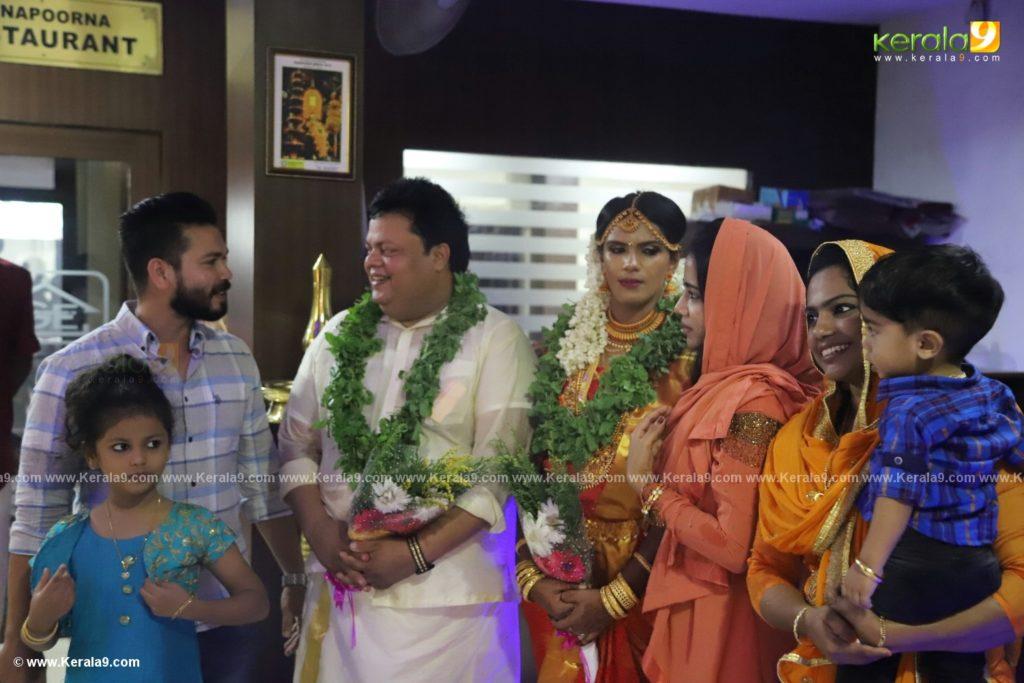 anoop chandran marriage photos 014