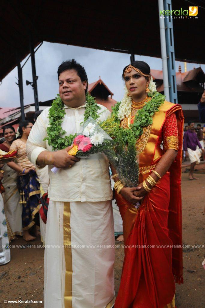 anoop chandran marriage photos 032