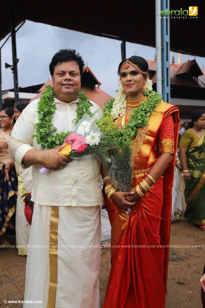 anoop chandran wedding photos