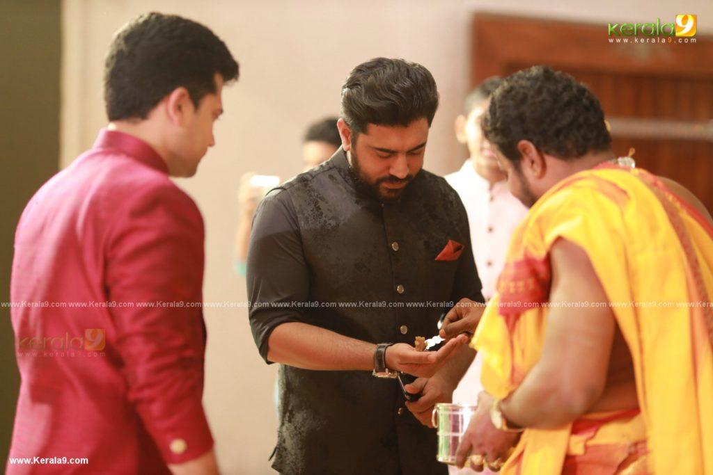 Nivin Pauly at Kalyan Navaratri Pooja 2019 Photos 009
