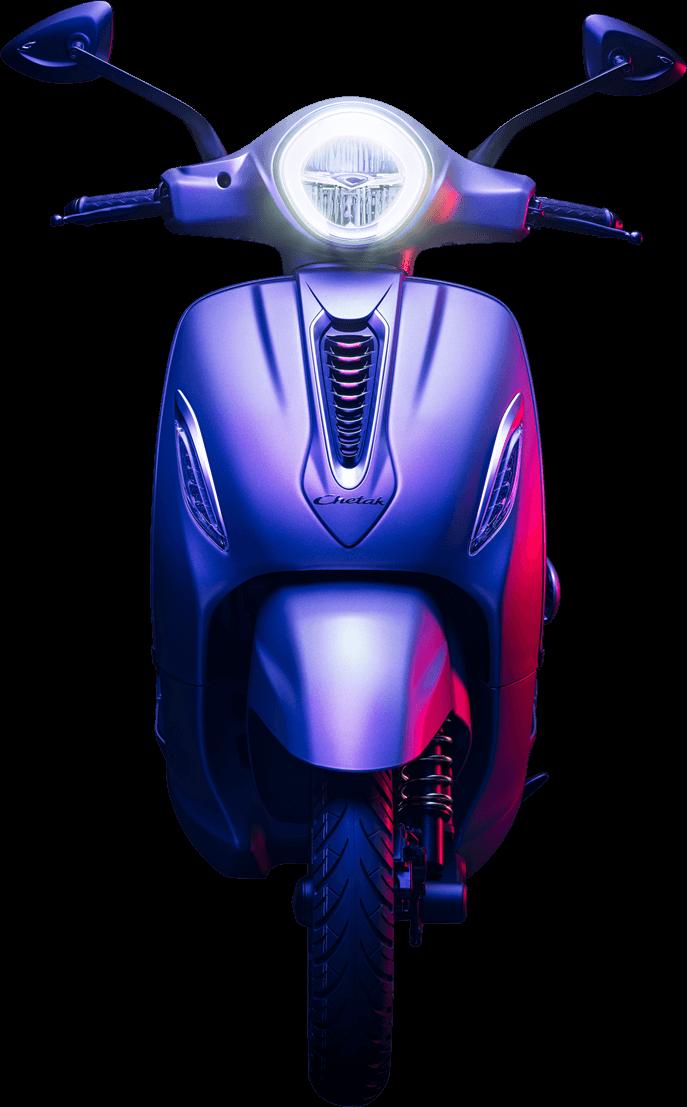 bajaj chetak electric scooter photos