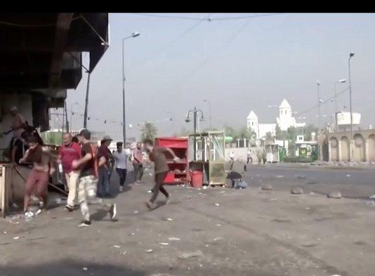Firing again in Iraq