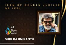 Rajinikanth honored at IFFI