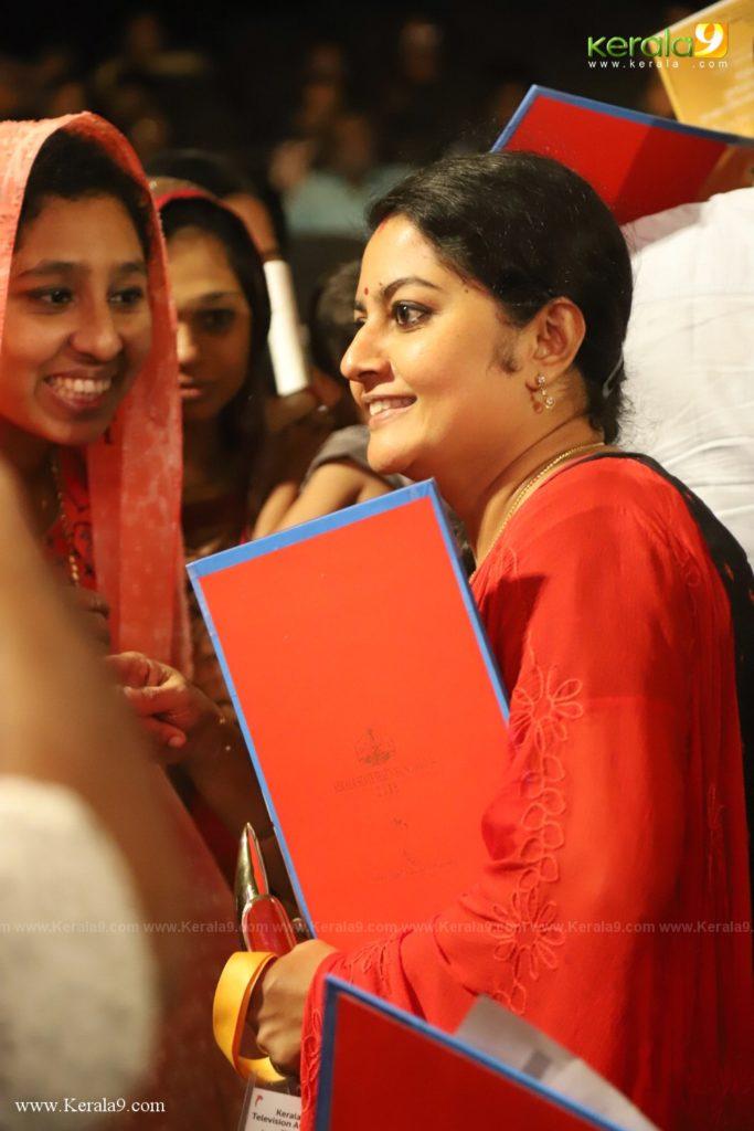 Seena Antony at Kerala State Television Awards 2019 Photos 164