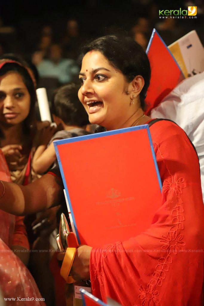 Seena Antony at Kerala State Television Awards 2019 Photos 165