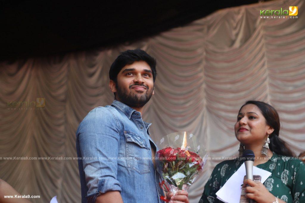 Vikram Son Dhruv at Womens College Thiruvananthapuram photos 012