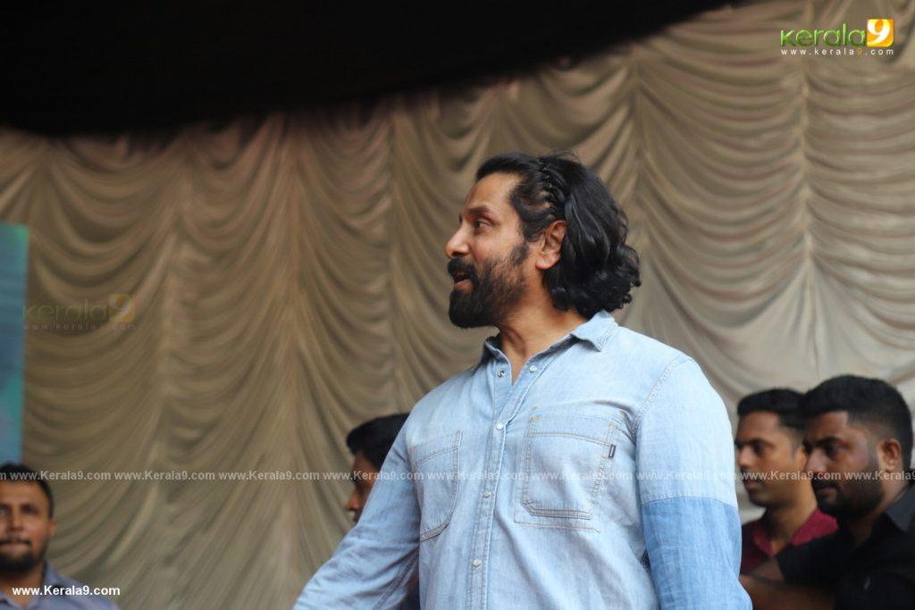 Vikram Son Dhruv at Womens College Thiruvananthapuram photos 026